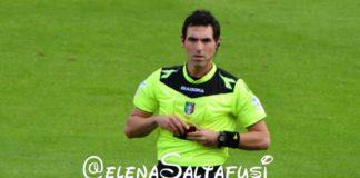 Col Lecce c'è Sacchi di Macerata: con lui più gioie che dolori. Il bilancio del Grifo con l'arbitro marchigiano è di 4 vittorie, 3 sconfitte e 2 pareggi