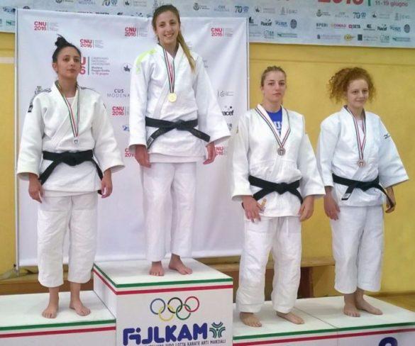 Cus Perugia, il judo regala un ultimo bronzo ai Cnu 2016