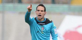 L'arbitro della vittoria con l'Ascoli per la sfida col Cittadella. Sarà Valerio Marini di Roma 1 a dirigere il match del Curi in programma sabato