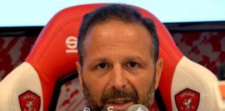 """Santopadre: """"Mercato? Abbiamo fatto il massimo"""". L'amministratore unico del Perugia: """"Crediamo di aver rinforzato la squadra, poi il rettangolo verde è giudice supremo"""""""