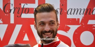 """Di Carmine: """"Io e Cerri più forti di Caputo e Donnarumma"""". Il match-winner del Grifo: """"Il gol mi mancava, sono felice. Pensiamo gara dopo gara"""""""
