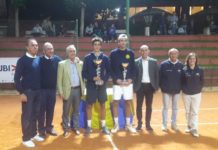 Stefano Baldoni si aggiudica gli Assoluti regionali. Il tennista dello Junior Perugia supera in finale Militi Ribaldi in tre set