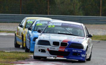 BMW 318 Racing Series: trionfano Parretta e Lilli. Le auto della casa tedesca hanno sfrecciato nel weekend all'autodromo di Magione