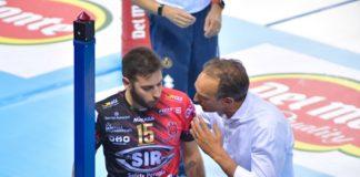 Sir, fine delle feste: domenica arriva Padova. Dopo la vittoria della Supercoppa, i ragazzi di Bernardi sono tornati a lavorare per preparare l'esordio in campionato