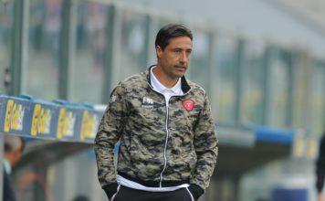 """Giunti: """"Continuo a credere su questa squadra"""". Il tecnico del perugia: """"Contro il Cesena sarà una partita spartiacque"""""""