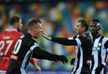 """Una """"Maxi"""" Udinese umilia il Grifo 8-3. Il Perugia gioca ma imbarca ed i friuliani staccano il pass per il San Paolo. Poker per l'ex Toro Lopez"""
