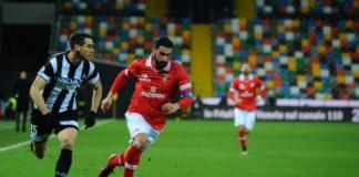 Tegola per Breda: Belmonte torna contro l'Empoli? Il tecnico del Grifo dovrà fare a meno del difensore per almeno 20 giorni. A Salerno Falco possibile titolare