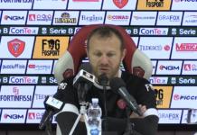 """Breda: """"Il Bari è una corazzata"""". Il tecnico del Perugia: """"Loro hanno grandi giocatori ma una vittoria può farci cambiare prospettiva"""""""