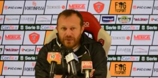 """Breda: """"Non cerco consensi, voglio fare punti"""". Il tecnico del Grifo: """"Col Bari errori di reparto, il Novara in una situazione simile alla nostra"""""""