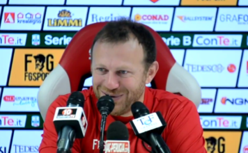"""Breda: """"Meno alibi, più soluzioni"""". Il tecnico del Perugia: """"Il Bari è squadra temibile, noi cercheremo di fare più punti possibili"""""""