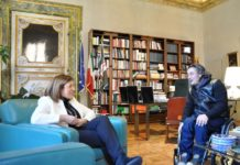 Il Presidente del C.I.P. Umbria ricevuto a Palazzo Donini