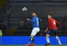 Under 21: Cerri ci prova, ma l'Italia non va oltre l'1-1. Al Curi gli Azzurrini sprecano troppo e raggiungono la Norvegia grazie a Vido. Il Grifone fa sponde e spreca di testa nel finale