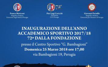 Il Cus Perugia si prepara a festeggiare l'inizio dell'anno sportivo