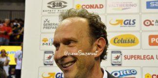 """Bernardi: """"La gara con Monza? Vinciamo noi"""". Il tecnico della Sir Perugia sicuro che i suoi ragazzi non lo tradiranno"""