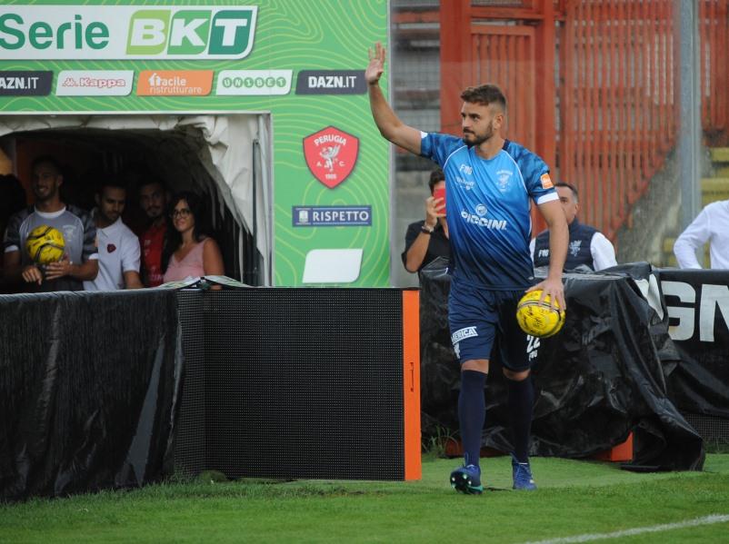 """Leader Gabriel: """"Voglio essere un esempio per i giovani"""". Il portiere del Grifo: """"Mi sento un giocatore importante fuori e dentro il campo. A Perugia voglio vivere momenti importanti"""""""