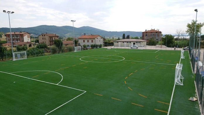 Taglio del nastro per il nuovo impianto sportivo di San Savino
