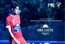 """Ore Liete è il nuovo """"training sponsor"""" del Grifo. Il noto marchio dolciario accompagnerà i biancorossi durante gli allenamenti"""