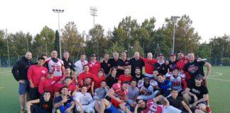 """Grifoni Perugia: col Legio XIII buone indicazioni. Coach Caligiana sull'allenamento congiunto con la formazione romana: """"Ho visto cose positive, ma ancora c'è da lavorare per l'avvio del campionato"""""""