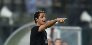 """Nesta: """"Dobbiamo essere leggeri, nessuna preoccupazione"""". Il tecnico del Grifo: """"Nessun calcolo, giochiamocela senza rimpianti. Porto in panchina anche Monaco"""""""