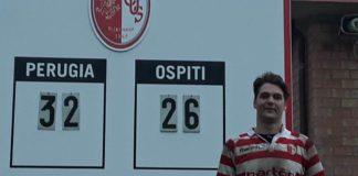 L'Aquila si arrende al Rugby Perugia. Vittoria casalinga per 32-26 per i ragazzi di Speziali. Le Donne Etrusche cadono a Bologna