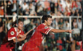 """Ricordi in Biancorosso: quando il """"Conte"""" Max salvò Galeone. Un gol di Allegri aprì le danze nella vittoria interna con l'Udinese nell'ottobre '96. E il successo portò pace """"pro tempore"""" fra tecnico e Gaucci"""
