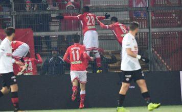 Tris Grifo, il Foggia paga. Una doppietta di Kouan nel primo tempo e un gol di Vido nel finale annichiliscono dei deludenti satanelli