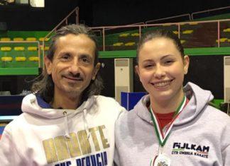 """Una perugina all' """"Olympic Training Camp di Karate"""". Alin Coulon del Cus Perugia dentro la lista dei 60 atleti che parteciperanno all'importante evento"""