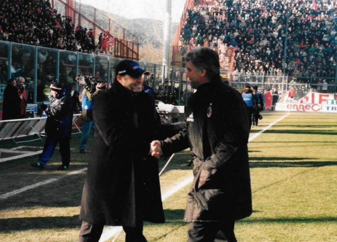 Ricordi in Biancorosso: quanti allenatori tra Grifo e Milan. Grosso, Nesta, Gattuso e Tedesco: solo questi alcuni dei tecnici, allora giocatori, che si sono sfidati al Curi nel 2003