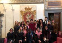"""""""Pink is Good Running Team"""" arriva anche a Perugia. Presentata a Palazzo dei Priori l'iniziativa della fondazione Umberto Veronesi. Presenti il sindaco Romizi e gli assessori Pastorelli e Wagué"""