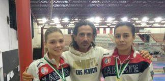 Karate: le ragazze del Cus Perugia brillano in Toscana. Oro, argento e bronzo agli Open Internazionali per le atlete del maestro Arena