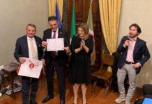 """La Sir Perugia è """"ambasciatrice regionale"""". Il sodalizio del presidente Sirci si fregia del prestigioso titolo per meriti sportivi"""