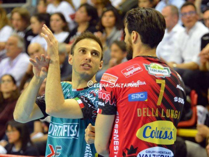 E ora la Sir già con la testa a gara 2. Archiviata la vittoria nella prima gara della serie di semifinale scudetto, i Block Devils preparano il colpaccio in casa di Modena venerdì sera