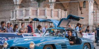 La Mille Miglia torna a transitare a Perugia. La presentazione dell'evento questa mattina presso la Sala Rossa di Palazzo dei Priori