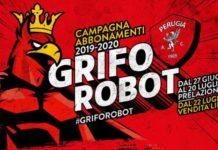 """Campagna abbonamenti: arriva """"Griforobot"""". L'area marketing del Perugia sceglie la via dei supereroi per promuovere le sottoscrizioni per la prossima stagione"""