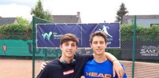 """Casucci dello Junior Tennis """"sbanca"""" in Belgio. Alla Justin Henin Junior Cup di Limelette, l'alfiere del sodalizio perugino fa suo il trofeo insieme al laziale Camilli"""