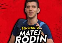 Grifo dei Balcani: ufficiale l'approdo del bosniaco Rodin. Il difensore classe '96 ha firmato un contratto di 4 anni con il Perugia