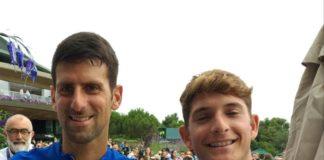 Passaro saluta Wimbledon dopo la sconfitta nel doppio. L'alfiere dello Junior Tennis Perugia ha comunque vissuto giorni memorabili allo Wimbledon Juniores