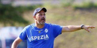 """Spezia, Italiano: """"Col Perugia servirà tanta fame"""". Il tecnico delle aquile: """"Grifo tra le più attrezzate del torneo, a noi serve più concretezza"""""""