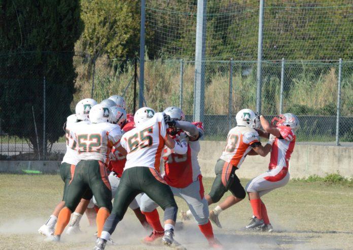 Football americano: quattro Grifoni in prestito ai Dolphins Ancona. Rossini, Vitali, Buccioli e Gattobigio si mettono in mostra con la formazione under 19 dei marchigiani