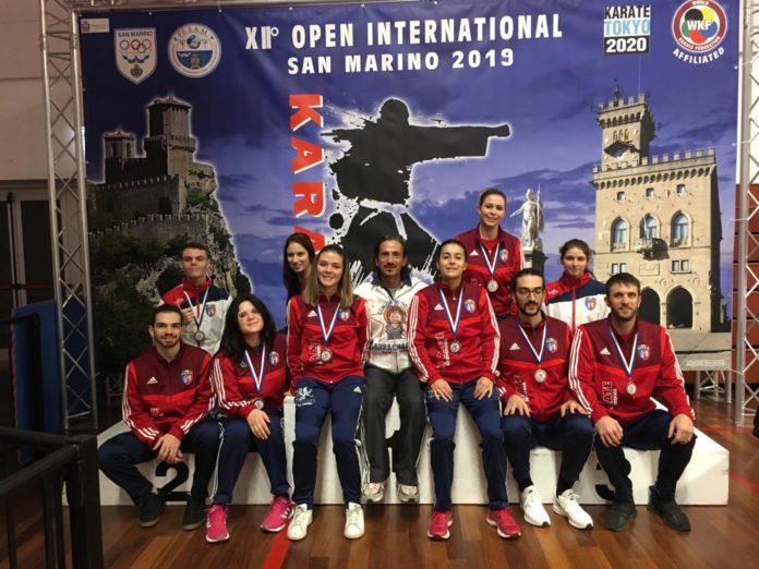 Il Cus Perugia fa incetta di medaglie nel karate. Agli