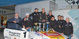 Adrenalina alle stelle all'autodromo di Magione. Parretta e Giani si laureano campioni nella BMW Racing Series