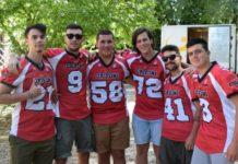"""Football Americano: i """"Grifoni"""" continuano a ben figurare ad Ancona. Rossini, Vitali, Gattobigio e Buccioli stanno ben figurando tra le fila dei Dolphins"""
