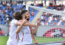 Trapani - Perugia: Top e Flop. Iemmello e Falcinelli a braccetto, Gyomber il peggiore tra i peggiori