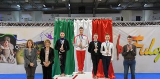 La Fortebraccio festeggia Vittoria Laliscia. L'atleta perugina è campionessa d'Italia Senior alla fune alle finali nazionali di Foligno