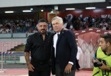 """Grifo: a Napoli il 14 gennaio con """"Ringhio"""". Decisa la data dell'ottavo di Coppa Italia, diretta tv su Rai 2. E intanto De Laurentiis esonera Ancelotti e ingaggia Gattuso"""