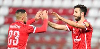 Iemmello mette a rischio Ravanelli e Clemente. Con l'attuale media gol la punta biancorossa può migliorare il record di reti stagionali del Perugia