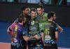 Tours espugnata: la Sir in Champions è un rullo compressore. Netto 3-0 degli uomini di Heynen in terra francese. Leon e un grande Plotnytskyi i mattatori della serata