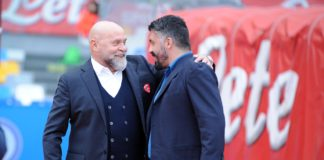 """Gattuso: """"Non soddisfatto del secondo tempo"""". Il tecnico del Napoli: """"Nella ripresa non ragionavamo"""""""
