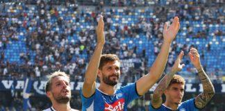 Il Napoli non snobba il Grifo e va in ritiro. Con una classifica sempre più deficitaria la conquista della Coppa Italia diventa la porta di accesso per l'Europa League per gli azzurri
