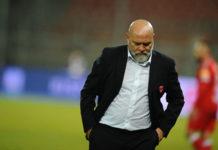 """Cosmi: """"Non commento certe dichiarazioni, sennò sarei cattivo"""". Il tecnico del Perugia: """"Ricominciare sì, ma nella maniera giusta. D'accordo con la provocazione del presidente del Cagliari"""""""